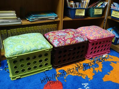 Upcycled Crate Seat Tutorial Christi Fultz