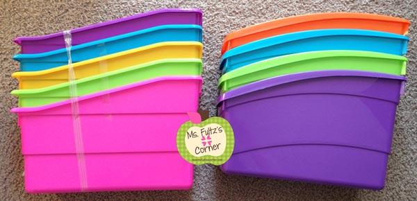 To Buy Or Not To Buy Plastic Book Bins Plus Diy Labels